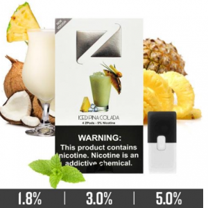 Iced Pina Colada Ziip Pods for Juul Devices in Dubai