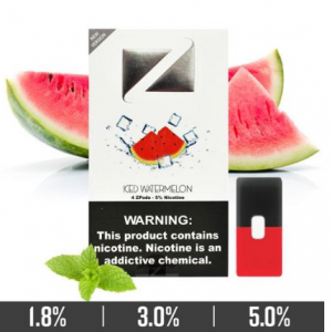 Iced Watermelon Ziip Pods for Juul Devices in Dubai