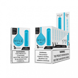 Mini Iced Blueberry MYLÉ Disposable Vape Pods in UAE.