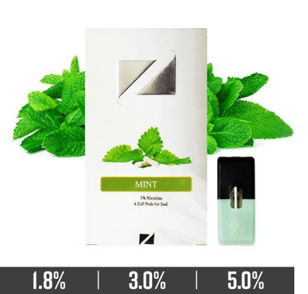 Mint Ziip Pods for Juul Devices in Dubai