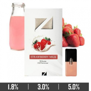 Strawberry Milk Ziip Pods for Juul Devices