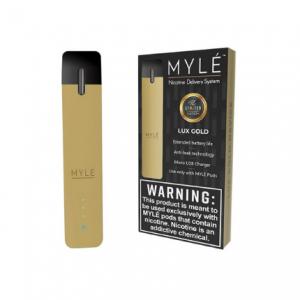 V1 Lux Gold - MYLÉ Pod Vape Device in UAE.