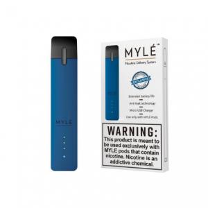 V1 Royal Blue - MYLÉ Pod Vape Device in UAE.