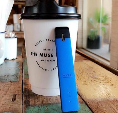 V1 Royal Blue - MYLÉ Pod Vape Starter Kits in UAE.