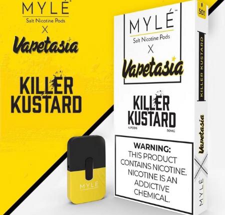 V1 Vapetasia Killer Custard MYLE Vape Pods in UAE