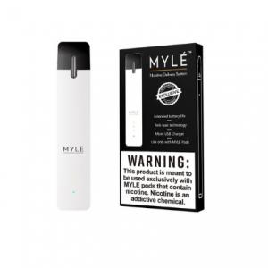 V1 White Pearl - MYLÉ Pod Vape Device in UAE.