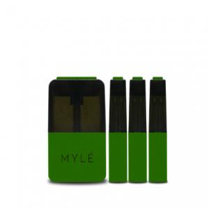 V4 Iced Apple Mango - MYLÉ Vape Pods in UAE.