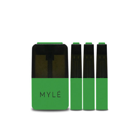 V4 Lemon Mint - MYLÉ Vape Pods in UAE.