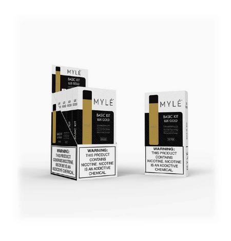 V4 Lux Gold –MYLE Pod Vape Device