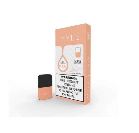 V4 Peach MYLE Vape Pods in UAE