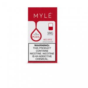 Buy MYLÉ V4 Red Apple Vape Pods online in UAE MYLÉ Vape Pods in Dubai, Abu Dhabi, Sharjah Ajman. Vapebuzzdubai provides V4 Red Apple MYLÉ Vape Pods in UAE.