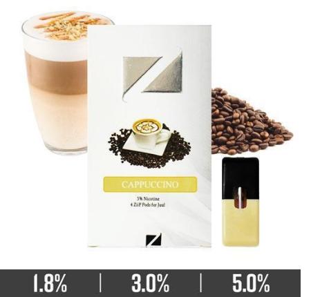 Ziip Pods Best Cappuccino Ziip Pods (Juul Compatible)