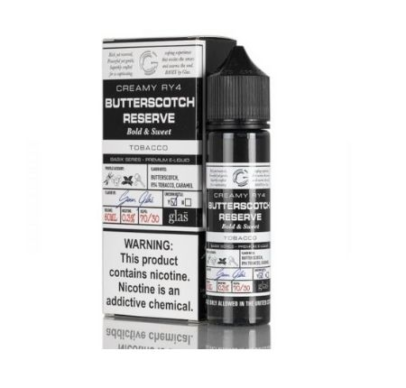 BASIX SERIES BUTTERSCOTCH RESERVE GLAS-60ML-3MG