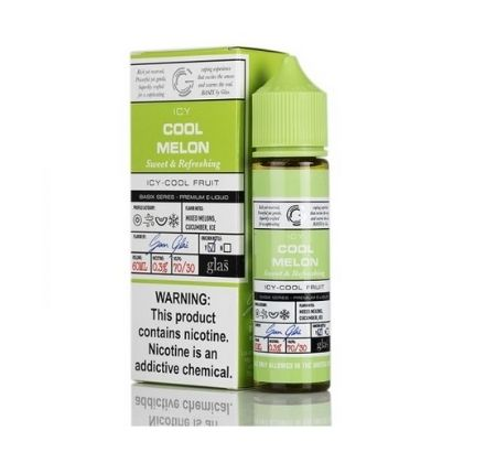 BASIX SERIES ICY COOL MELON BY GLAS – 60ML – 3MG,