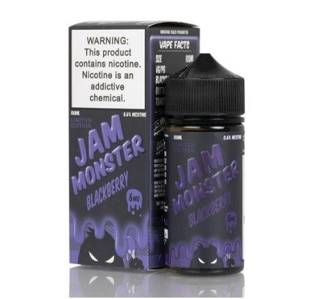 BLACKBERRY BY JAM MONSTER LIQUIDS 100ML-3MG