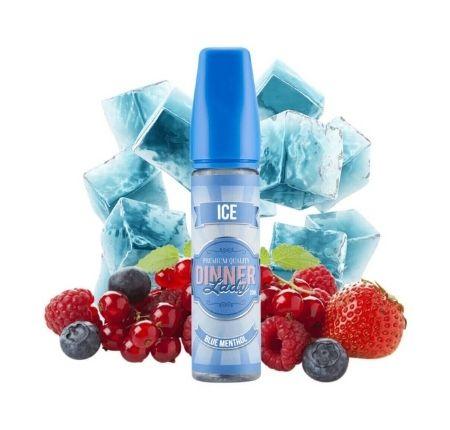 BLUE MENTHOL ICE BY DINNER LADY E-LIQUID 60ML