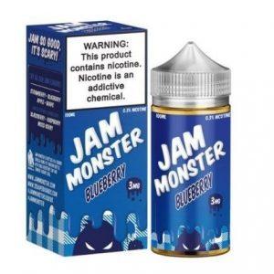 Blueberry by Jam Monster 100ml E-liquid-3mg
