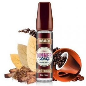 CAFE TOBACCO BY DINNER LADY 60ML E-LIQUID