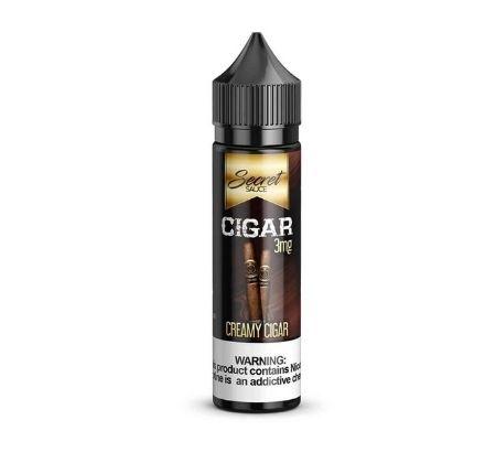 CIGAR BY SECRET SAUCE E-LIQUIDS – 60ML