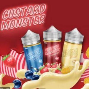 CUSTARD MONSTER E-LIQUID COLLECTION 100ML-3MG