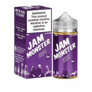 Jam Monster 100ml Grape E-liquid Dubai-3mg