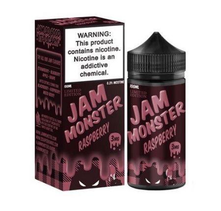 Jam Monster Raspberry100ml E-liquid-3mg