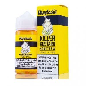 KILLER KUSTARD HONEYDEW BY VAPETASIA 100ML-3MG