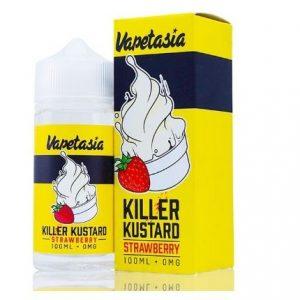 KILLER KUSTARD STRAWBERRY BY VAPETASIA 100ML-3MG