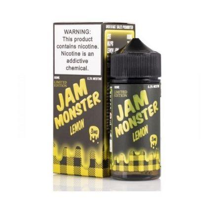 LEMON JAM BY JAM MONSTER 100ML E-LIQUIDS