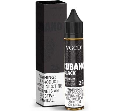 VGOD CUBANO BLACK SALTNIC
