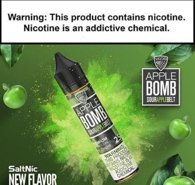 VGOD SaltNic Apple Bomb 30ml Nic Salt Vape Juice