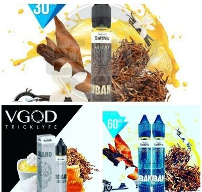 VGOD SaltNic Cubano e-Liquid 30ml