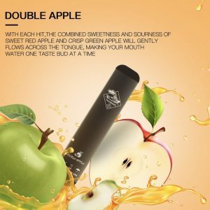 Authentic Double Apple by Tugboat Disposable Pods – V2 (Pack of 3!) in dubai