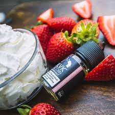 Strawberry Cream – Salt Plus – Blvk Unicorn – 30ml In UAE