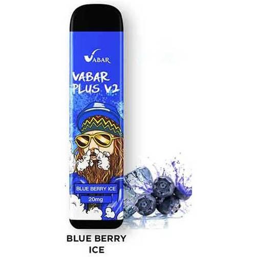 Blue Berry Ice Vabar Plus V2 Disposable Vape In Dubai
