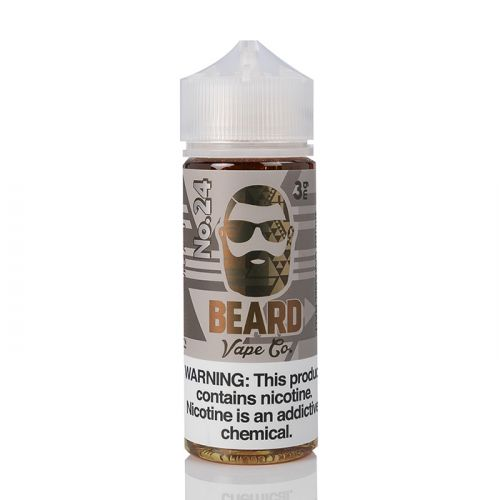 No. 24 By Beard Vape Co 120ml Front In Dubai