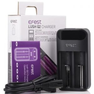 Efest Lush Q2 2-Bay Intelligent Led Battery Charger