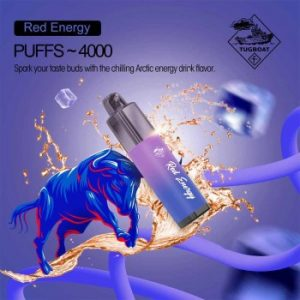 TUGBOAT MEGA FLOW 4000 PUFFS DISPOSABLE POD AIRFLOW CONTROL DUBAI