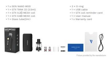 Vaporesso GEN Nano 80W Kit UAE